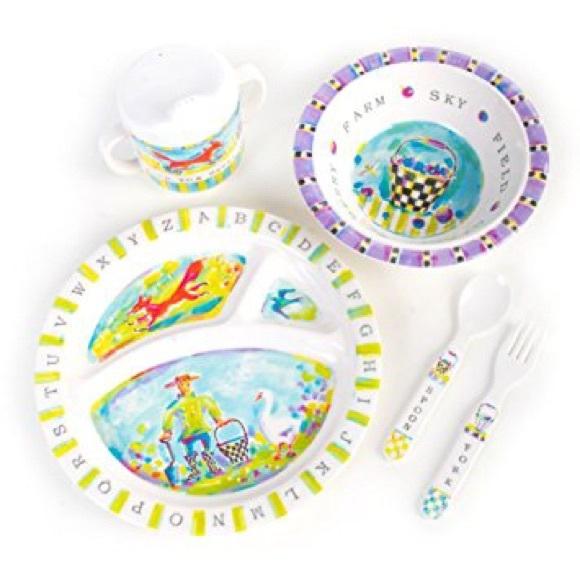 Mackenzie Childs Dinnerware Set- Alphabet Farm  sc 1 st  Poshmark & Mackenzie Childs Other | Dinnerware Set Alphabet Farm | Poshmark